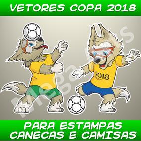 +100 Vetores Estampas Copa Camisas Mundo 2018 Sublimação