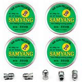 4 Cx De Chumbinhos Samyang Extra Pesado 28.5gr 5.5mm - 125un