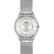 Reloj Swatch De Mujer Extra Chato De Acero Sfm118m