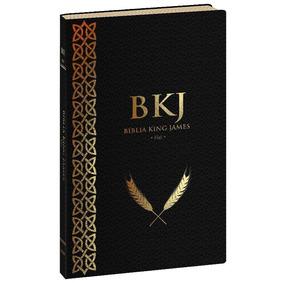 Biblia King James Fiel 1611 Ultrafina Preta