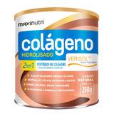 Colágeno Verisol 2em1 250g Maxinutri # Rugas Nunca Mais