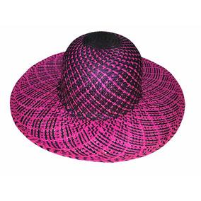 Sombrero De Jipi Para Dama Playero Bicolor 50% Off