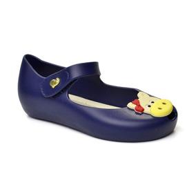 Peep Toe Infantil Confeti World Colors 017045-1379 - Azul
