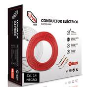 Caja 100 Mts Cable Iusa Negro Thw Cal 14 Awg 100%cobre