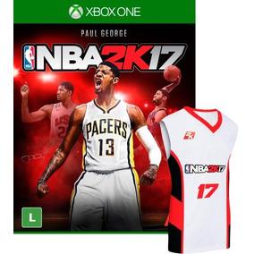 Nba 2k17 - Ed. Pré-venda - Inclui Camiseta - Xbox One