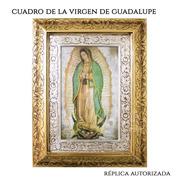Cuadro De La Virgen De Guadalupe 53x41 Cm