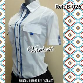 Camisa Manga Corta Tipo Columbia ( Algodón Plus )
