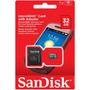 Tarjeta Memoria Sandisk 32gb Micro Sd Clase 4