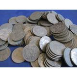 Lote 100 Monedas Chile 1 Peso Año 1933 De Niquel