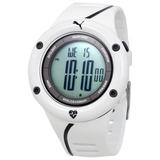 Frequencímetro Relógio Monitor Cardíaco Puma Branco Novo