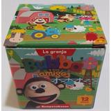 4 Puzzle De 12 Piezas Rompecabezas Del Mono Bubba +3 Años