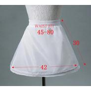 Anágua Petticoat Infantil Ajustável Para Armar Vestido Festa