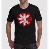 Camiseta Red Hot Chilipeppers Bandas De Rock M-2