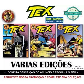 Tex Edição Em Cores Novas Revista Faroeste - Varias Capas