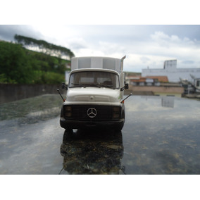 Miniatura De Caminhão Mercedes Benz L 1113 ´´lixeiro´´