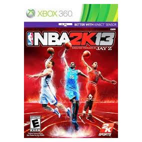Xbox 360 Nba 2k 13 Original Para Todas Las Xbox 360