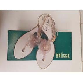 Melissa Rasteirinha Vidro By 284. Original, Número 37.