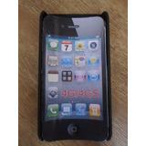 Capa Celular Iphone 4g/gs - Única No Ml!!! Estilo Diferente!