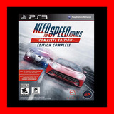 Need For Speed Rivals Complete Edition Ps3