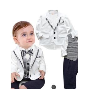 Terninho Macacao Social Com Blazer Com Gravata Borboleta