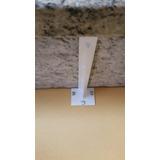 Suporte Mármore Invisível 35cm Branco Forsul Mão Francesa
