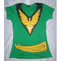 Camisa Camiseta Blusa Jean Fênix Phoenix Customizada Xmen