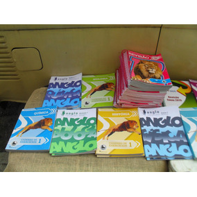 Lote Com 33 Apostilas Anglo Ensino Médio 2010-2014