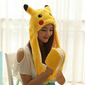 Pokemon Pikachu Gorro Hat Handmade Bufanda