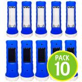Pack 10 Lampara Linterna Emergencia Solar 12219 Fernapet