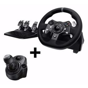 Volante Logitech Driving Force G920 + Cambio Xbox One Pc