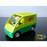 Lego Duplo Carro Van Legumes Feira Com 1 Boneco