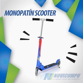Monopatín Scooter De Alta Calidad Metálico Plegable