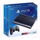 Consola Playstation Ps3 500 Gb + 2 Mandos Move + Camara Ps3
