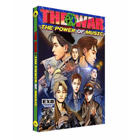 Cd Exo - The War: The Power Of Music (korean Version) Nuevo