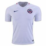 Camiseta Selección De Chile Blanca 2017