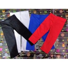 Leggins Algodon Para Niñas Pack Por 3 Unidades Colores