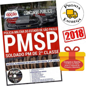 Apostila Polícia Militar Pm Sp 2018 - Soldado Pm 2ª Classe