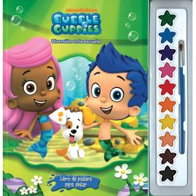 Libro De Posters Para Pintar: Bubble Guppies