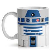 Caneca Star Wars R2d2 Cerâmica 325 Ml
