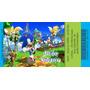50 Convites Ingresso Vip Sonic Aniversário