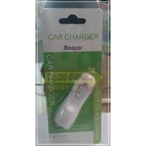 Cargador Para Auto Usb 12v Beeper Beepcar5010