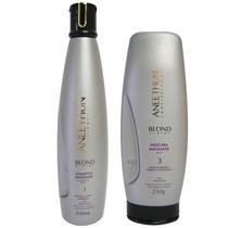 Kit Aneethun Blond Shampoo 300ml E Masc. 250gr Desamarelador