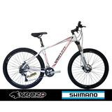 Bicicleta Venzo Aro 29 Cambio Alivio 27v Suspensão C/ Trava