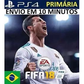 Fifa 18 | Fifa 2018 Ps4 - Psn Original 1ª - Dublado