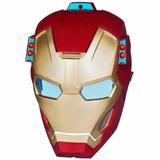 Máscara Eletrônica Iron Man ( Homem De Ferro) 3 Hasbro