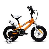 Bicicleta Royal Baby Fr Niño Aro 12 Naranja