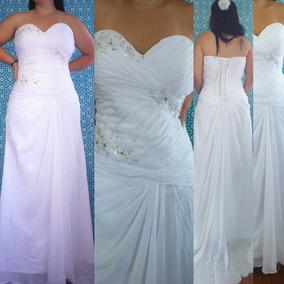 Vestido De Noiva Plus Size (até50/52) Pronta Entrega Barato