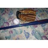 Set Tamanaco De Beisbol Infantil: Guante, Bate, Pelota