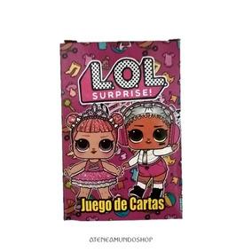 Cartas Naipes Souvenirs Lol Surprise! X10 Mazos