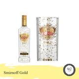 Smirnoff Gold Collection- Flocos De Ouro